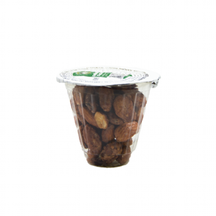 Display-Nutty Express-50g-Sabor-Amêndoa-Glaceada-Display com 12 unidades